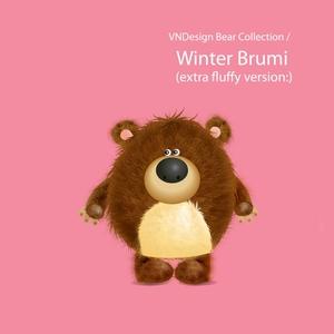 Bear winterbrumi vndesign