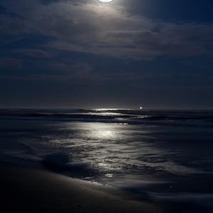 November evening at burkes beach by jim crotty 11