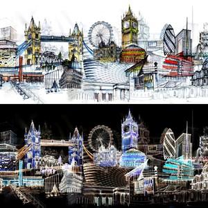 London  paralele i kontrasti