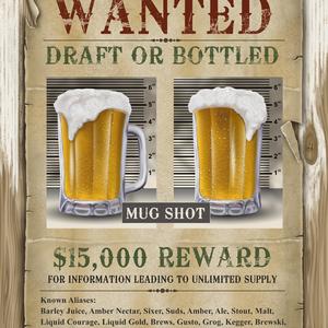 Poster mugshot