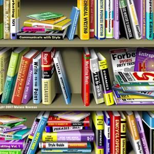 Lg illus bookcase