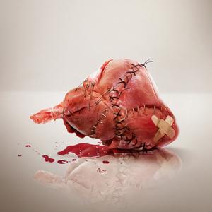 Cupido cuore a pezzi