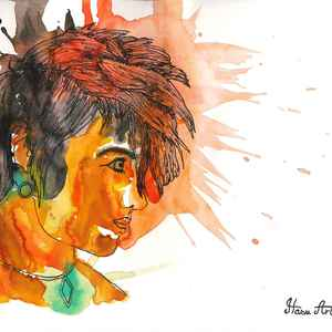 She %28watercolor%29 %282%29