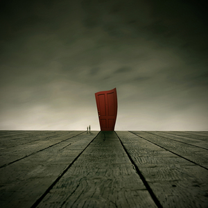 The secret of the red door