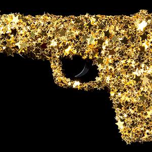 Gold gun.flkr
