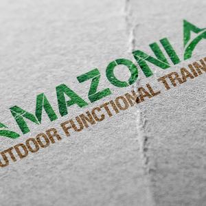 Amazonia   logo mockup on paper 1200x800px