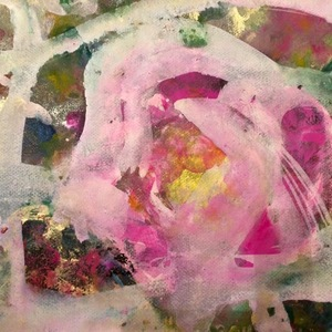 Abstract autumn roses a