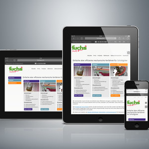 Fuchs responsive web design tablet
