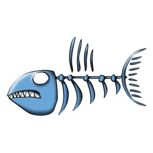 Fish bones sites