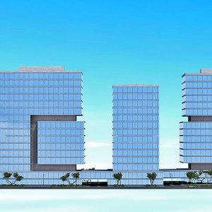 3d architectural render mockup 1