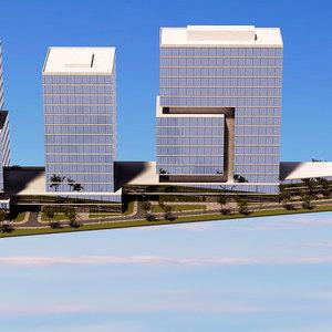 3d architectural render mockup 5
